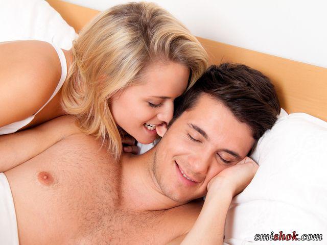 с мужем в постели-фц1