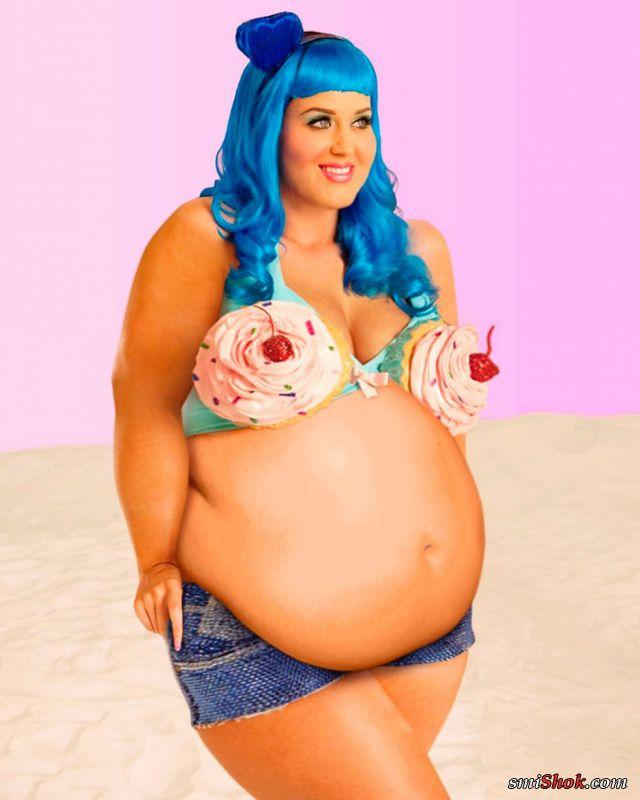 Толстушка трясёт жирком 10 фотография