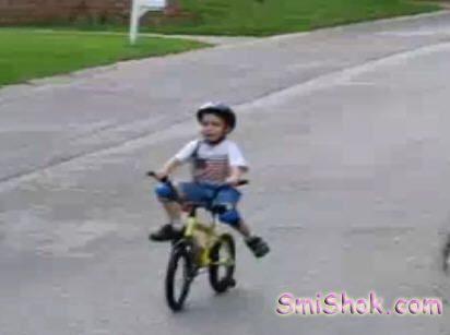 Перший раз на велосипеді
