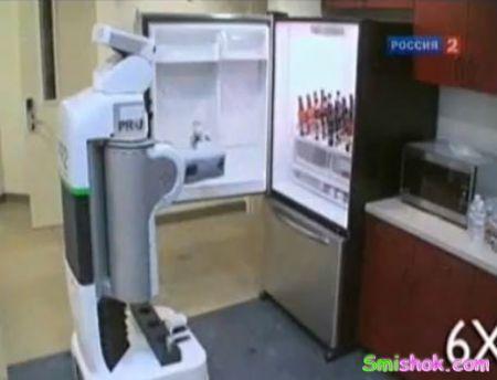 Робот який бігає за ПИВОМ