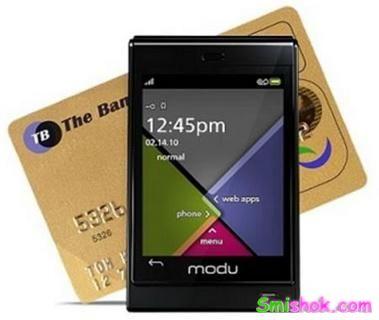 Міні-телефон з сенсорним дисплеєм Modu T