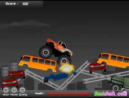 Друга версія гонки на джипі по різній техніці