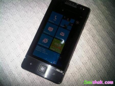 Перший смартфон ASUS з Windows Phone 7 потрапив в кадр