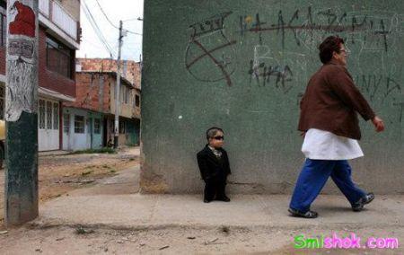 Найменший чолові доки живе в Колумбії