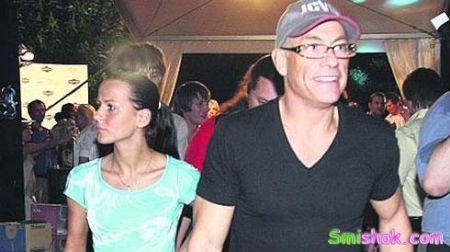 Ван Дамм розводиться з дружиною заради української моделі