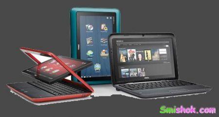 Цікавий гібрид планшета і нетбука від Dell