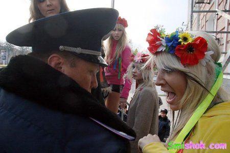 Скандальних Femen приборкали