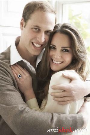 У Великобританії випущена монета з принцом Уильямом і Кейт Миддлтон