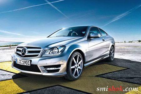 Фотографії нового купе Mercedes-Benz C-Class