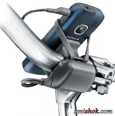 Зарядний пристрій для велосипедистів від Nokia