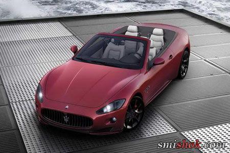 Maserati покаже в Женеві GranCabrio Sport