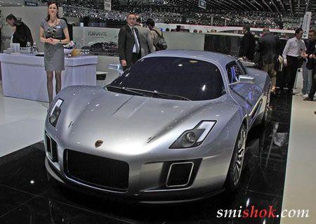 Gumpert зробив купе за мотивами Bugatti Veyron