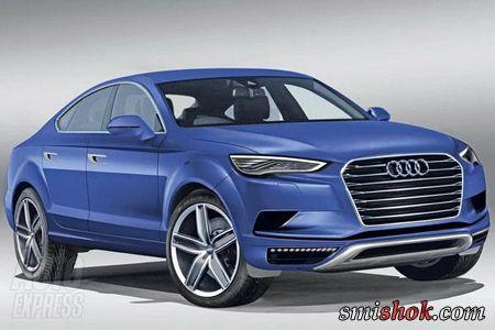 Audi Q6. Перші малюнки