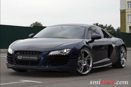 Карбоновий Audi R8 від Status Design