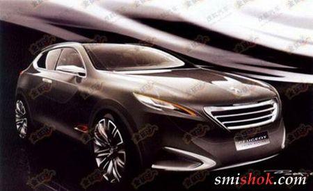Peugeot покаже китайський кросовер