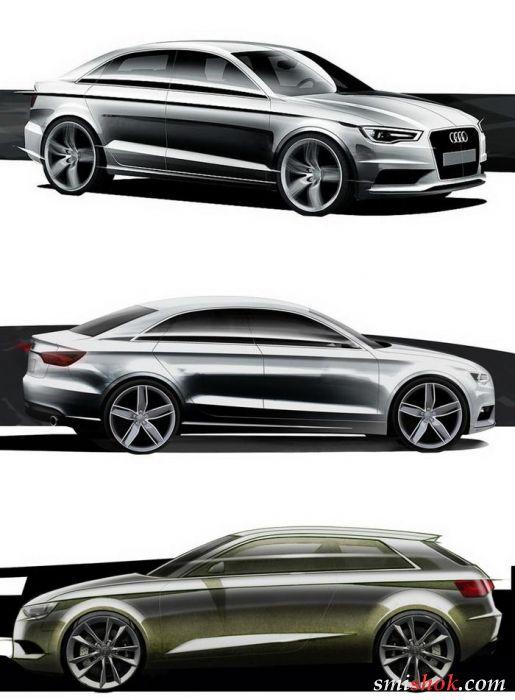 Audi намалювала дві новинки