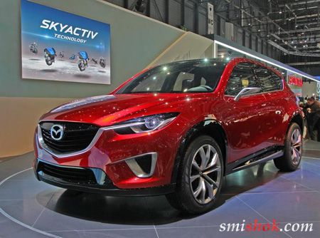 Нову Mazda назвуть CX-5