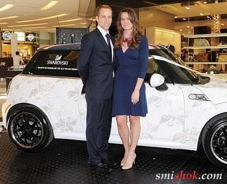 Випущений ексклюзивний Mini Cooper від Swarovski для королівської весілля