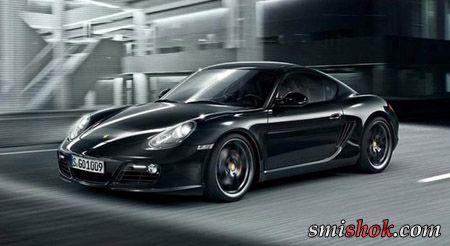 Porsche виводить на ринок Cayman S Black Edition