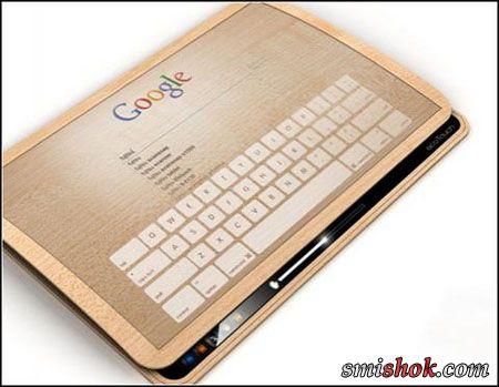 Ecopad - планшет, який заряджається від дотиків
