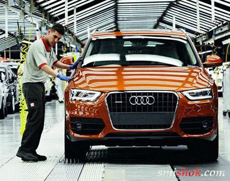 Audi почала випуск Q3