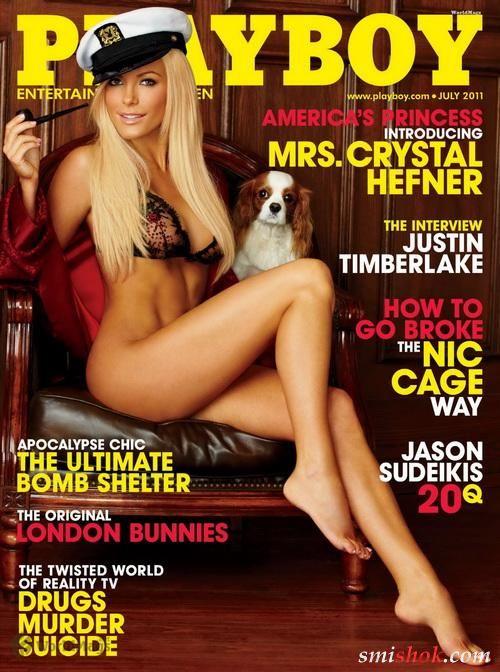 Джесса Хінтон в Playboy