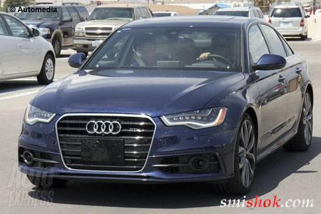Новий Audi S6: перший погляд