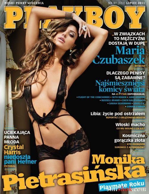 Моніка Петрасінска в Playboy Польща