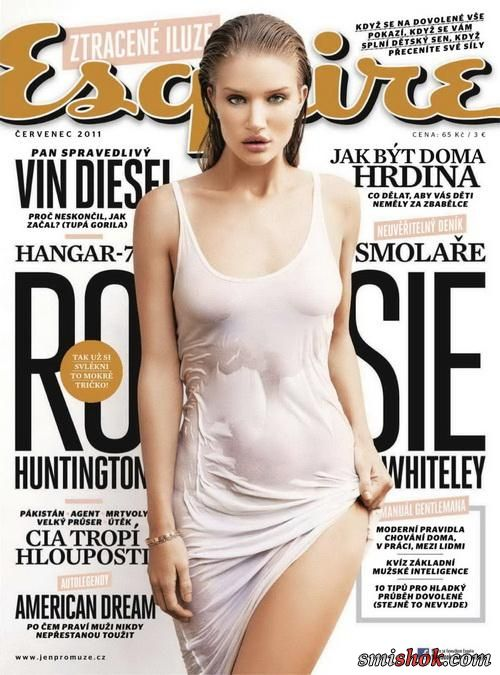 Рози Хантінгтон Уїтлі (Rosie Huntington Whiteley) в Esquire Чехії