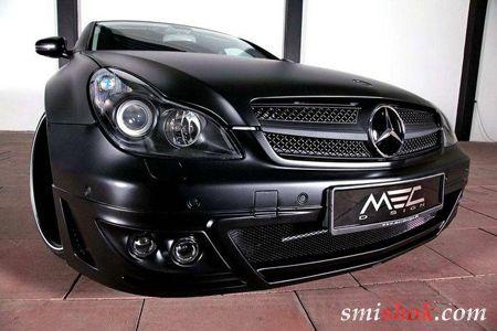 Чорний і злий: Mercedes CLS 500 в тюнинге MEC Design