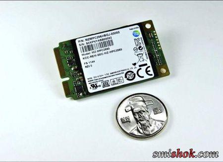 Твердотільні mSATA накопичувачі Samsung PM830 виходять на стадію серійного виробництва
