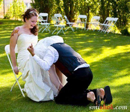 Весільні фото приколи