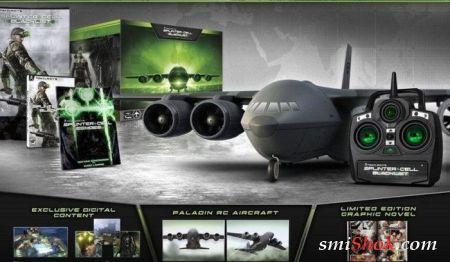 В специальную версию Splinter Cell: Blacklist войдет модель самолета
