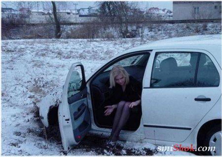 Женщина за рулем - это прикольно