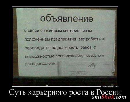 Подборка демотиваторов для вас