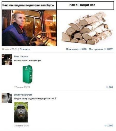 Прикольные коментарии из соц сетей