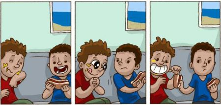 Комикс про настоящих друзей