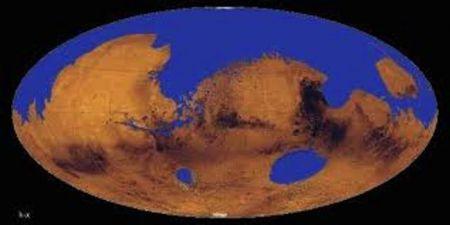 На Марсе существовал океан