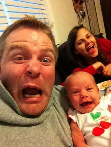 Родители и их дети очень похожи!