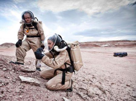 На Земле, в пустыне, есть станция, где точно сымитированы условия жизни на Марсе