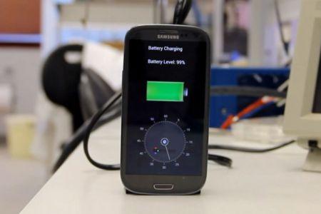 Зарядить смартфон за 30 секунд