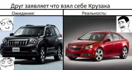 Разные авто и много приколов.