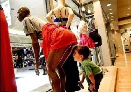 Дети знают, куда нужно смотреть и что делать