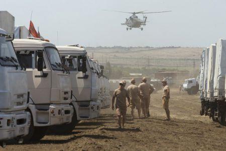 МИД Украины: Российский гуманитарный конвой незаконно пересек границу