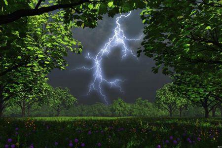 Притягивающие к себе молнии