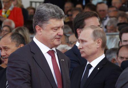 Порошенко поговорил с Путиным о том, как сделать перемирие постоянным
