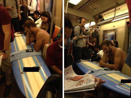 Безумные пассажиры общественного транспорта
