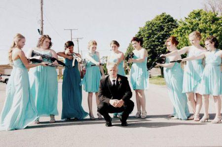 На свадьбе всегда весело