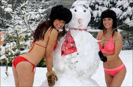 Девочки которые не дадут вам замерзнуть