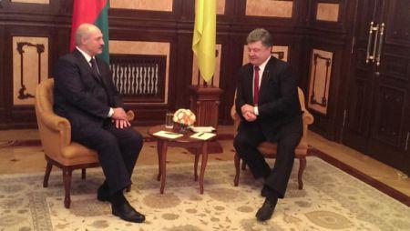 Телеканал и помощь с ЕС: о чем договорились Порошенко и Лукашенко